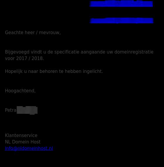 Mail NL Domein Host